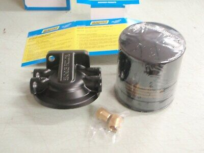 NEW SEACHOICE MARINE UNIVERSAL FUEL//WATER SEPARATOR WITH 3//8 PORTS SCP 20901