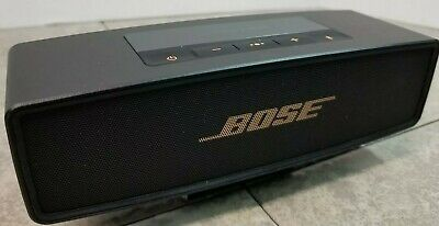 Bose Soundlink Mini II •Bose Warranty • Black Copper