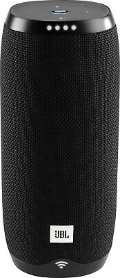 JBL Link 20 Portable Bluetooth Speaker with Google Assistant - Black