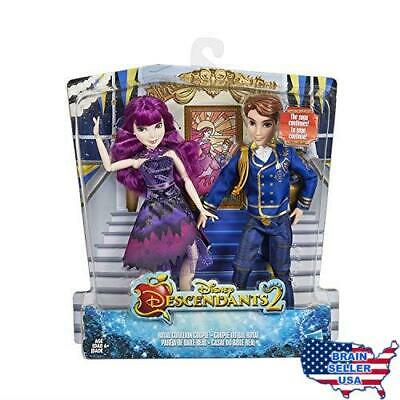 Disney Descendants 2 Royal Cotillion Couple Mal and King Ben of Auradon Set-Desc