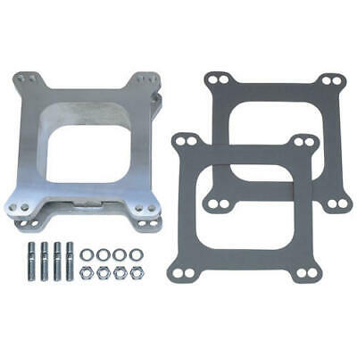 """2081 Trans Dapt Performance 2"""" Tall, Holley/Afb 4Bbl Spacer  Open  Cast Aluminum"""
