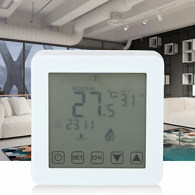 Smart LCD Touch Programmable Heating Digital Thermostat Temperature Controller