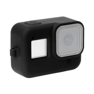 PULUZ for GoPro HERO8 Black Protective Case Silicone Cover with Wrist Strap