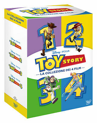 |175243| Toy Story Collection (4 Dvd) - Toy Story [DVD] Italian Import