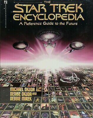 Star Trek Encyclopedia by Michael Okuda 1994 Paperback