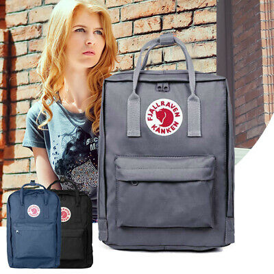 Fjallraven Kanken Backpack School Waterproof Handbag Sports Travel Bag 16 Litre