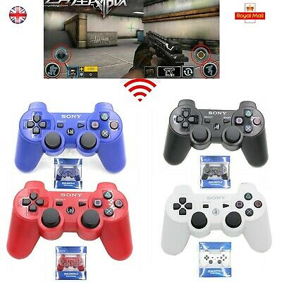 DualShock 3 PS3 Wireless Bluetooth Game Controller for Sony PlaySation 3