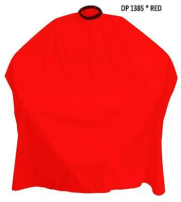 Barbers Hair Cutting Cape Hairdressing UnisexSalon Gown Apron Waterproof 1385RED