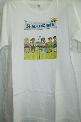 "New/ Original ""The 25th Annual Putnam County Spelling Bee"" T-Shirt Large (USA)"