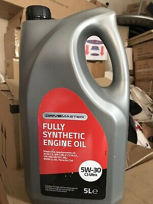 5️⃣litres  Fully Synthetic  5w 30 OiL C3 Ultra