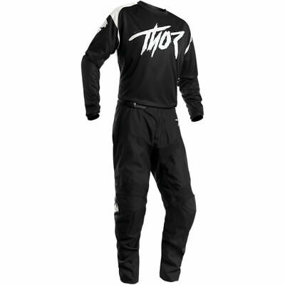 Thor 2020 Sector Link Black White Off road Race Kit Gear MX Motocross Adults
