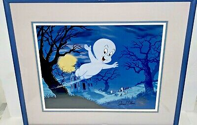 Casper The Friendly Ghost Cel Rare Signed Shamus Culhanewith Animation Art cell