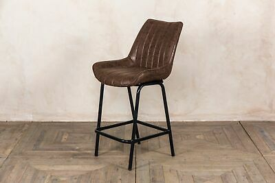 Strange Upholstered Bar Stools Breakfast Bar Stools Retro Style Gmtry Best Dining Table And Chair Ideas Images Gmtryco