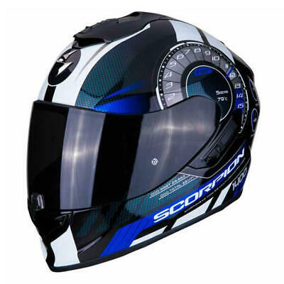 Scorpion EXO 1400 Torque Full Face Motorcycle Helmet Blue