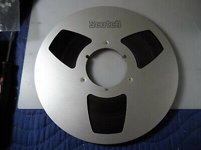 "Scotch 10.5"" Metal Reel And Tape"