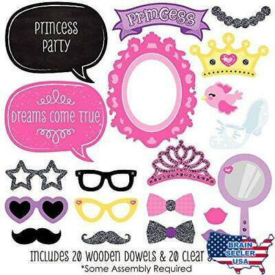 DIY 2058D 22 Photo Booth Props Prom Dating Teenager Love