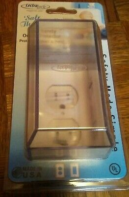 Lectra Lock Child Safety Outlet Protector Brad New Baby Proofing