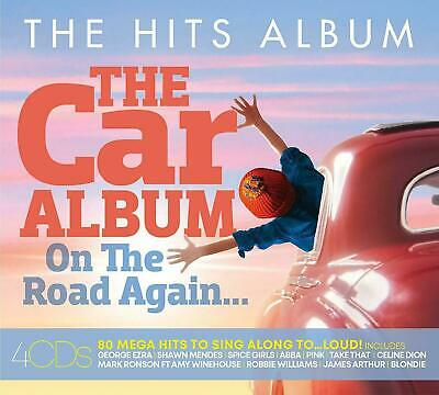 THE HITS ALBUM: THE CAR ALBUM ON THE ROAD AGAIN 4 CD SET (Released 1/11/2019)