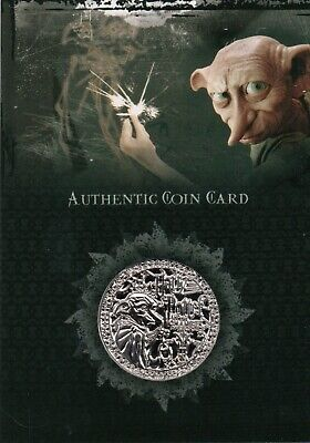 Harry Potter Memorable Moments, Chamber of Secrets Silver Coin Card CC1