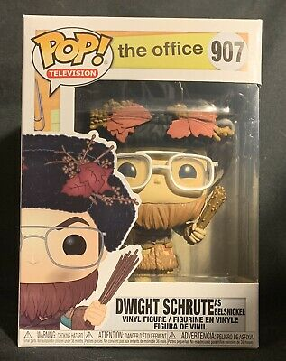 Funko Pop TV The Office Dwight Schrute As Belsnickle NIB In Protector