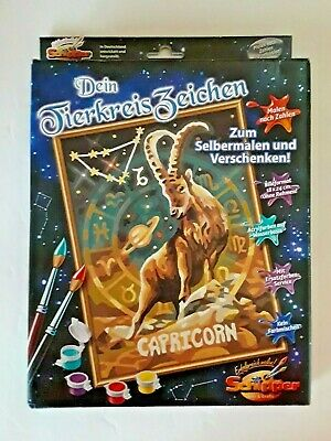 New In Box Schipper Germany Zodiac Capricorn Paint By Number