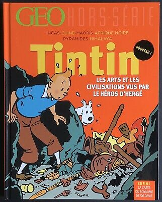 Geo off/except Series Tintin the Arts and Civilisations May-June 2015 Very Fine