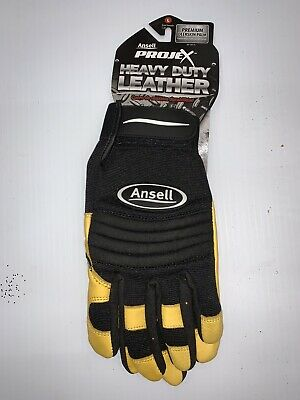 Ansell 97-975 Mens Work Gloves Heavy Duty Impact Protection Abrasion Resistant