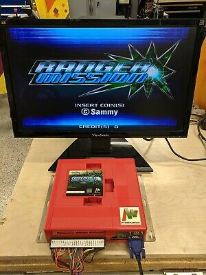 Sammy Atomiswave Jamma Motherboard With Ranger Mission Game - Tested Working -