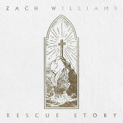 Rescue Story Zach Williams  Christian Audio CD Disc 1 PROVIDENT MUSIC BRAND NEW