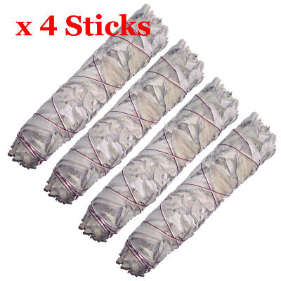 "Smudge Stick California White Sage - Extra Large / Jumbo 9"" (22cm) - Pack of 4"