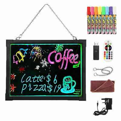 LED light up electronic fluorescent Writing Boad40*30CM Billboard Drawing Board