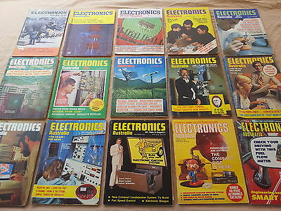 Electronics Australia, Magazines - 1965 to 2001 - Price/each. 500 in stock