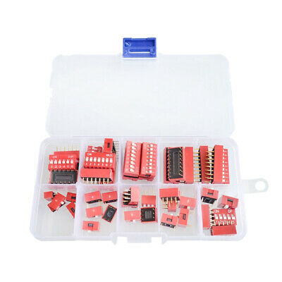 1/2/3/4/5/6/7/8/10/12 Way DIP Switch PCB Snap Integrated Circuit Switches