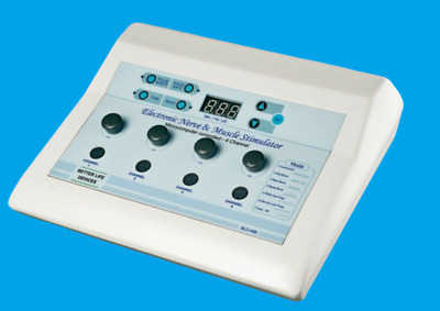 Chiropractic Physical 4 channel N. M. S - 498 physiotherapy Machine vcfsdzg
