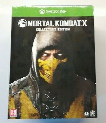 Mortal Kombat X Kollector's Edition Video Game for Xbox One PAL