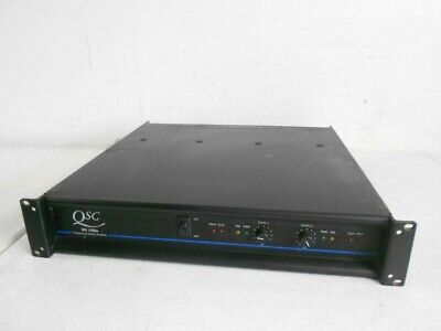 Set of (2) Pair of QSC MX1500A 2 channel Professional Stereo Amplifier