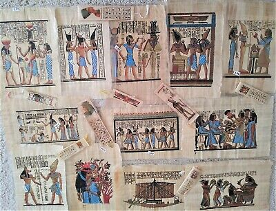 "Egyptian Papyrus ""a"" 20x30 cm * Select any picture, see details. Additional-$5.0"
