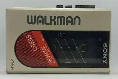 Sony Wm-24 Stereo Cassette Player Walkman Fully Working Order, Retro