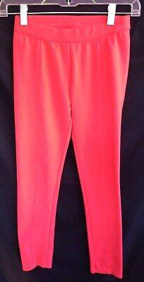 Janie And Jack Coral Seamed Ponte Legging Pants  - Size 8 Years  NEW!