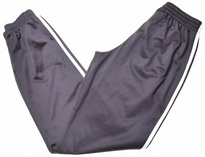 ADIDAS Boys Tracksuit Trousers 13-14 Years Black Polyester  JS10