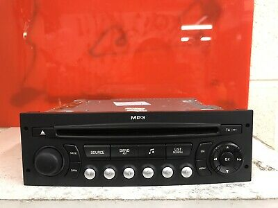 Peugeot Citroen Car Radio Stereo Cd Mp3 Player Siemens Rd4 N1m02 Fully Decoded