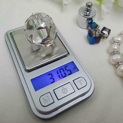 Mini Digital Scale 0.01g-200g Portable LCD Electronic Weight Jewelry Scales G5H1