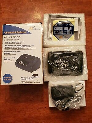 Brand New Royal Sovereign Quick Scan Counterfeit Detector RCD-2120