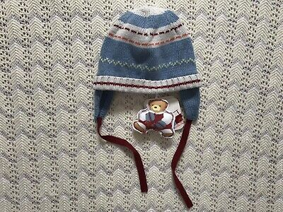 Kaloo Boys Knitted Hat 3-6 Months. Never Worn.