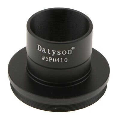 1.25inch to T2/1.25 inch Eyepiece Insertion to M48 Prime Telescope T Adapter