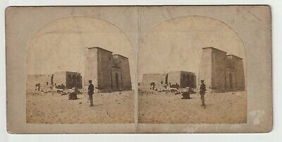 Francis Frith - Views in Egypt and Nubia - Stereoview - c1857 - Temple of Dakkeh