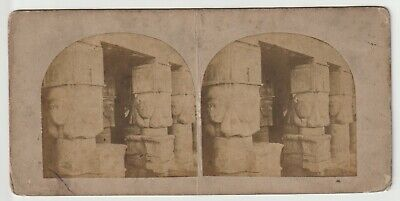 Francis Frith - Views in Egypt and Nubia - Stereoview - c1857 Temple of Dendera