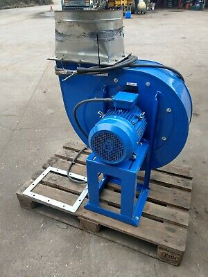 RM450l centrifugal fan for 400mm duct extract welding plasma fumes price inc vat