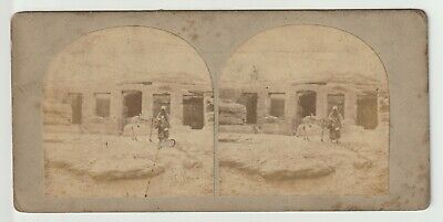 Francis Frith - Views in Egypt and Nubia - Stereoview - c1857 Temple of Derr