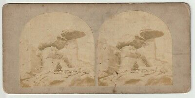 Francis Frith - Views in Egypt and Nubia - Stereoview - c1857 Hagar Silsili